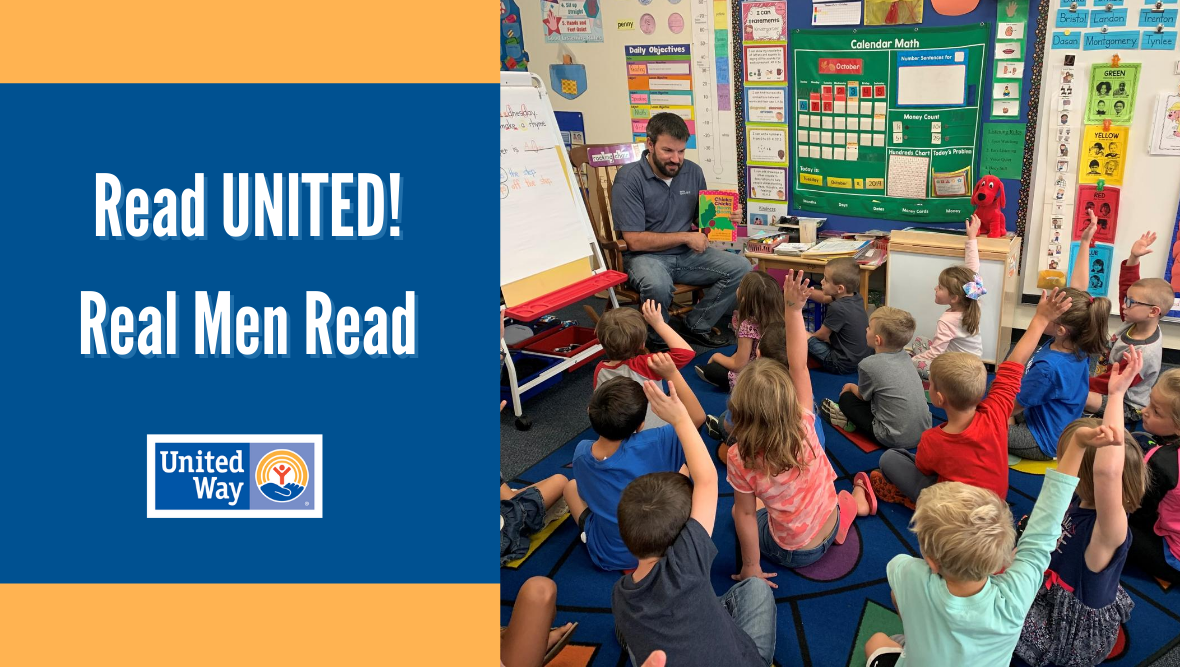 Donate to Read UNITED! and Real Men Read