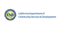 CA Department of community Services & Development Logo