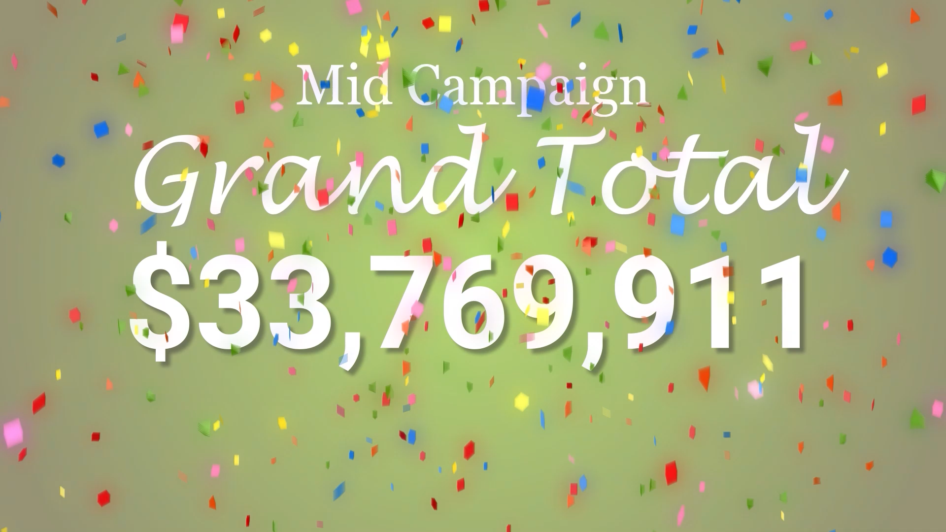 2021 Mid-Campaign Total
