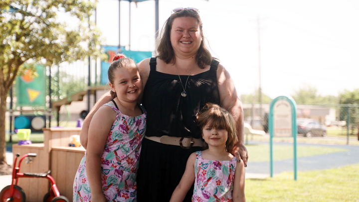 LeAmber and her daughters