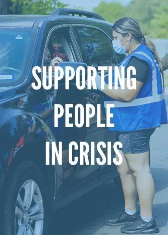 Supporting People in Crisis