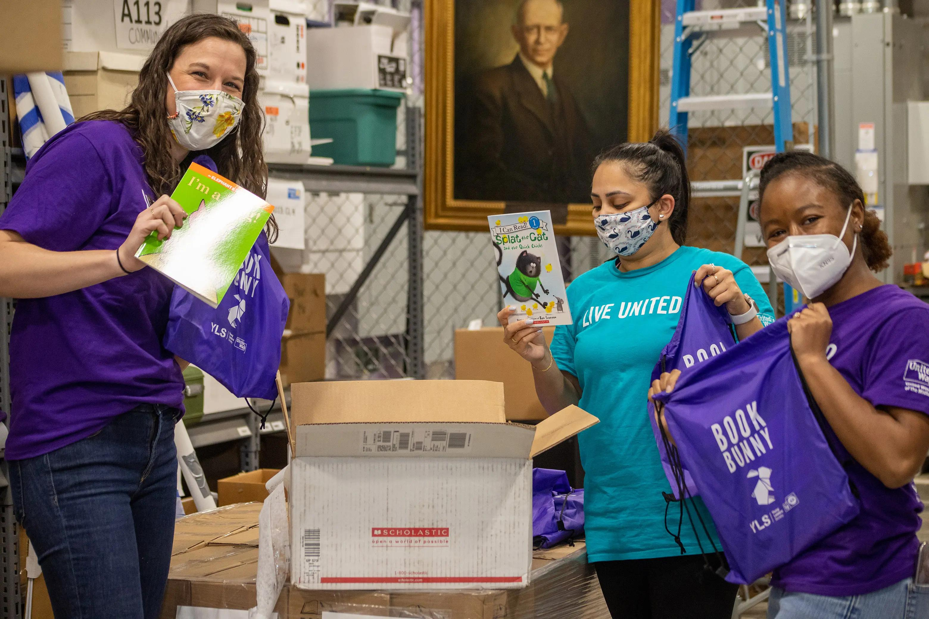 Book Bunnies deliver 10,000 books to 1,500 kids
