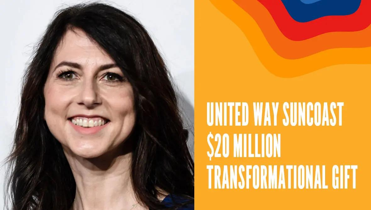 United Way Suncoast Receives Transformational Gift