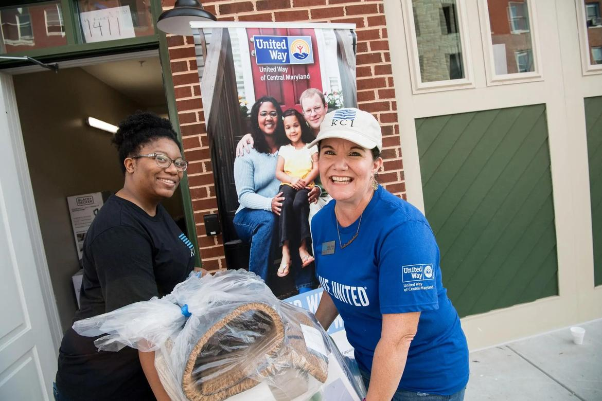 Fifth Day of Action Sees Hundreds of United Way of Central Maryland Volunteers Roll Up Their Sleeves to Help Their Communities