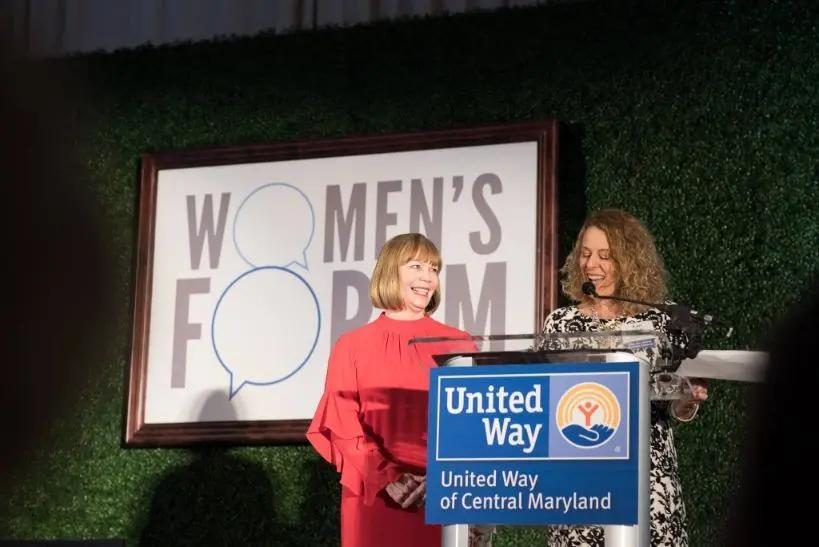 More than 500 of Baltimore's Women Leaders Celebrate the Power of Storytelling to Effect Change at United Way of Central Maryland's 2018 Women's Forum