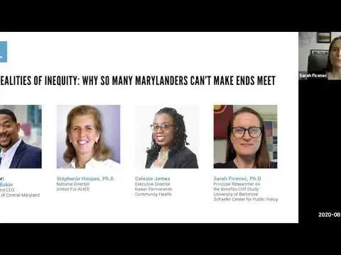 Why So Many Marylanders Can't Make Ends Meet