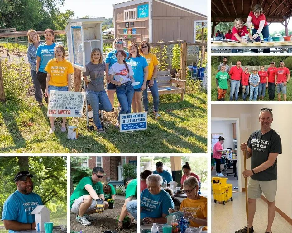 Day of Action Photo Collage