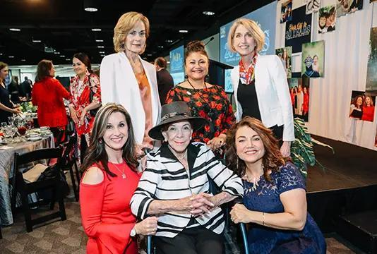 Group of women at Power of the Purse