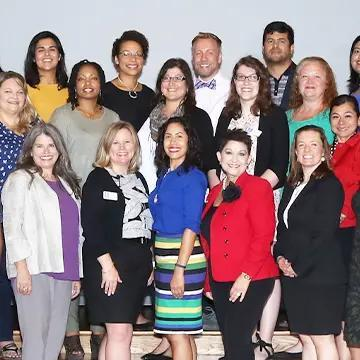 Group of members of San Antonio Volunteer Administrators.