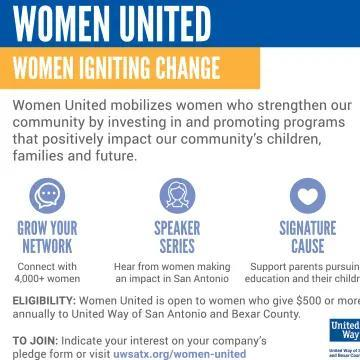 Women United Half-Pager