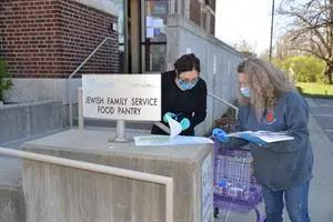 Image of Jewish Family Services Food Pantry Volunteers