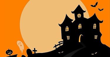 Halloween Spooky House.Halloween Spooky House Acrylic Paints Small Online Class For Ages 7 12 Outschool