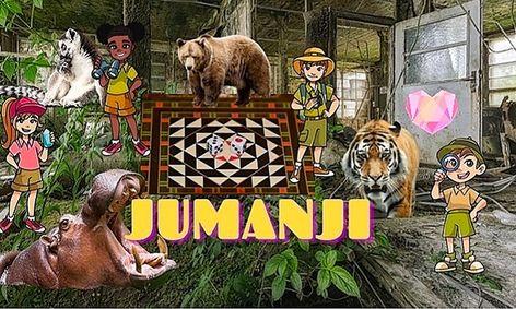 Escape Room: Jumanji, Time To Escape The Jungle (Ages 8-10