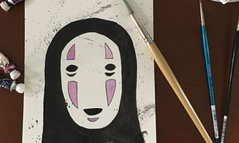 Studio Ghibli Series Spirited Away Watercolor Painting Class Of No Face Small Online Class For Ages 11 15 Outschool