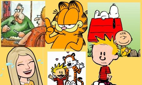 Classic Cartoons Garfield Peanuts The Far Side Calvin Hobbes Small Online Class For Ages 9 13 Outschool