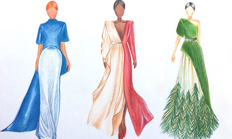 Fashion Design Designer Sketches Figure Drawing And Couture Illustrations Small Online Class For Ages 8 13 Outschool