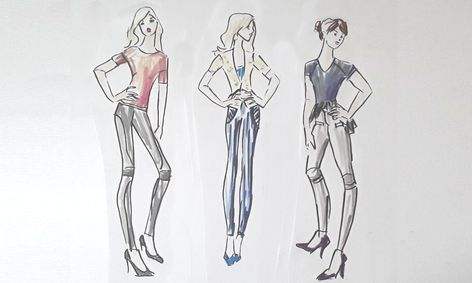 Fashion Design Fashion Figures Drawing Small Online Class For Ages 9 12 Outschool
