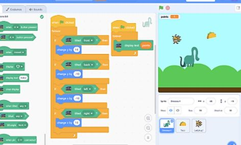 Scratch Coding Projects for Kids | Small Online Class for Ages 7-10 |  Outschool