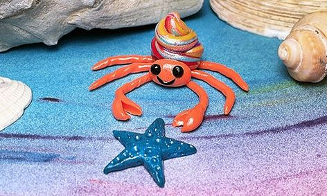 Cute Origami Hermit Crab for Kids Tutorial | 283x472