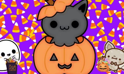 Halloween Kid Art Draw A Cute Halloween Picture Small Online Class For Ages 4 6 Outschool