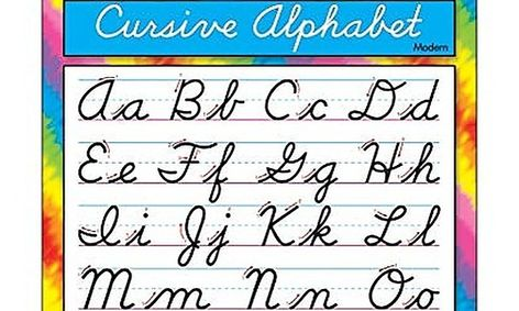 Beginning Cursive- Strokes of Creativity-Flex Class   Small Online Class  for Ages 6-11