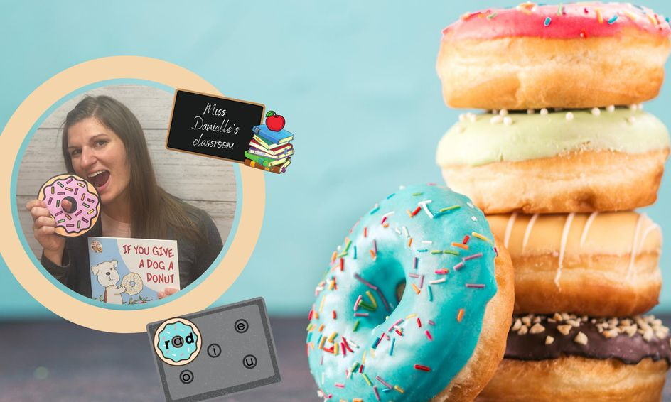 Dogs and Donuts Phonics Fun! Intro to Reading CVC Words   Small Online  Class for Ages 5-7   Outschool