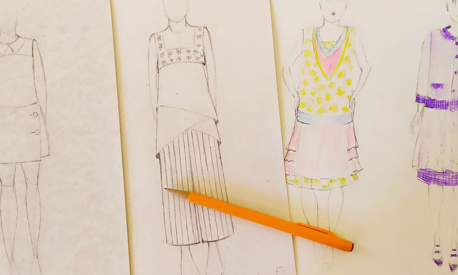 Fashion Design Class Designing The Rectangle Silhouette Small Online Class For Ages 9 14 Outschool