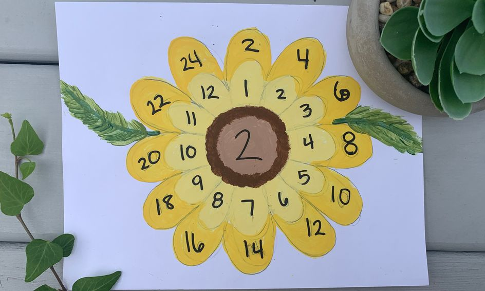 Ongoing Flower Painting: With Multiplication - Waldorf Inspired (1xweek) |  Small Online Class for Ages 8-12 | Outschool