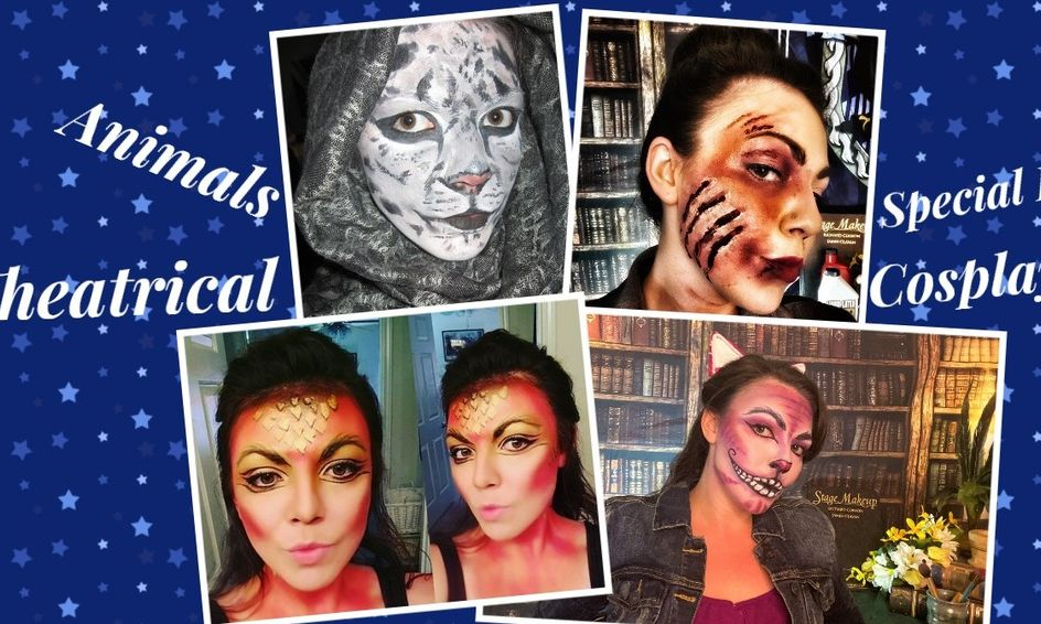 Special Fx Theater And Cosplay Makeup