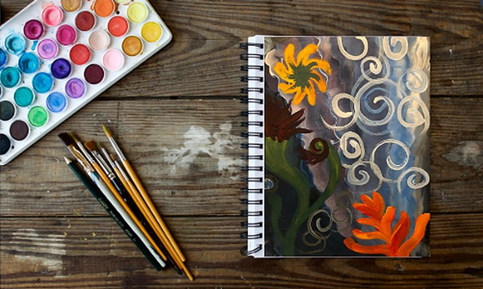 Art Journal 101 FLEX - Acrylic Painting, Collage, and More ...