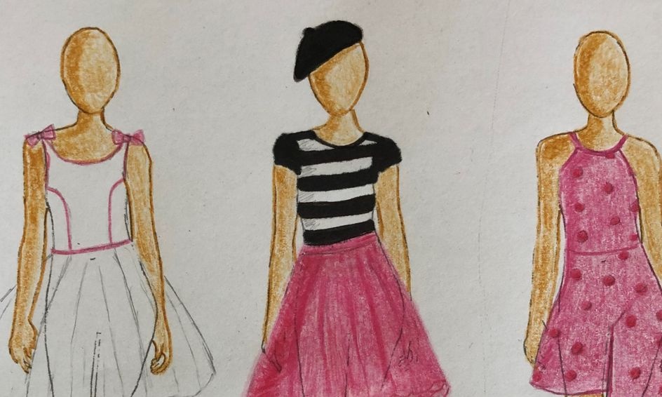 A Taste Of Fashion Design Sketch Design Small Online Class For Ages 8 12 Outschool