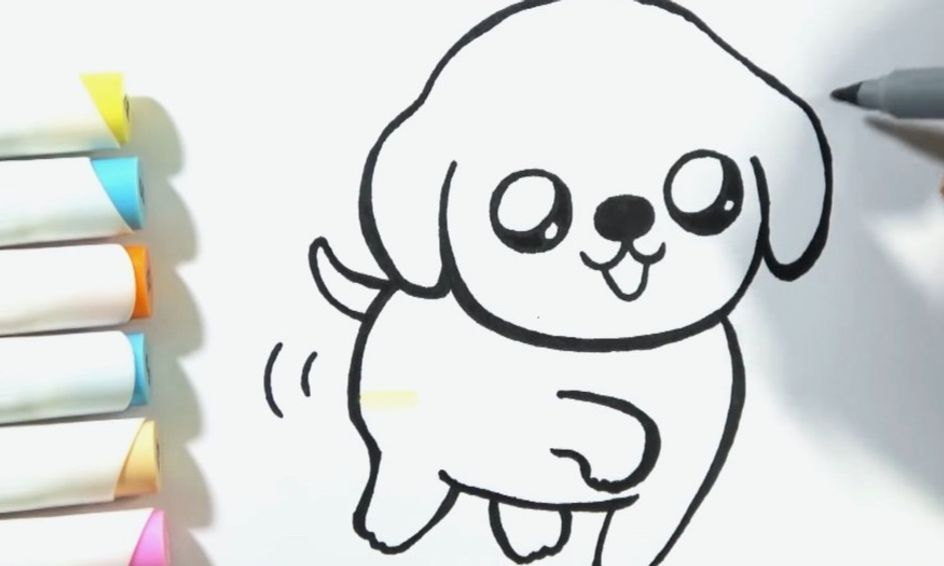 Learn And Draw A Cute Puppy Small Online Class For Ages 4 9 Outschool