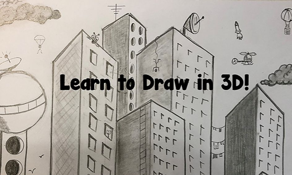 learn to draw in 3d episode 1 cityscape small online class for ages 7 11 outschool learn to draw in 3d episode 1 cityscape small online class for ages 7 11