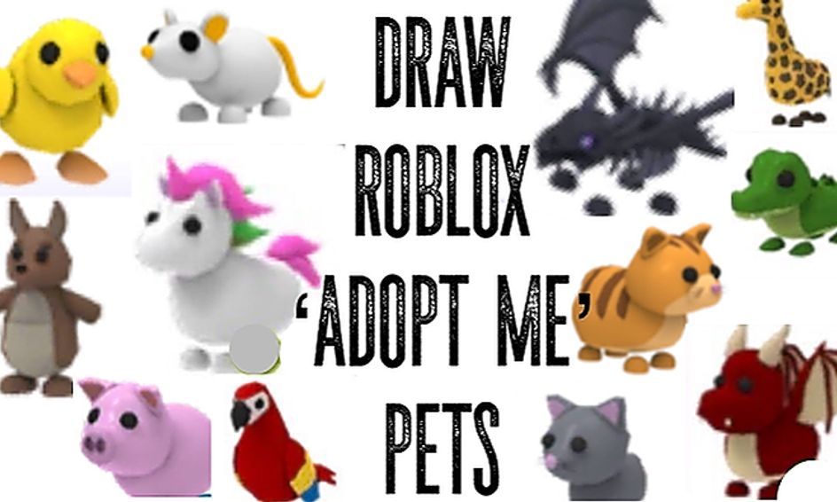 Animal Roblox Game Draw Roblox Adopt Me Pets Small Online Class For Ages 8 13 Outschool