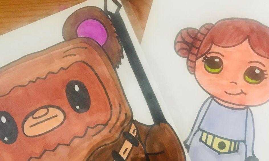 princess leia star wars fan art
