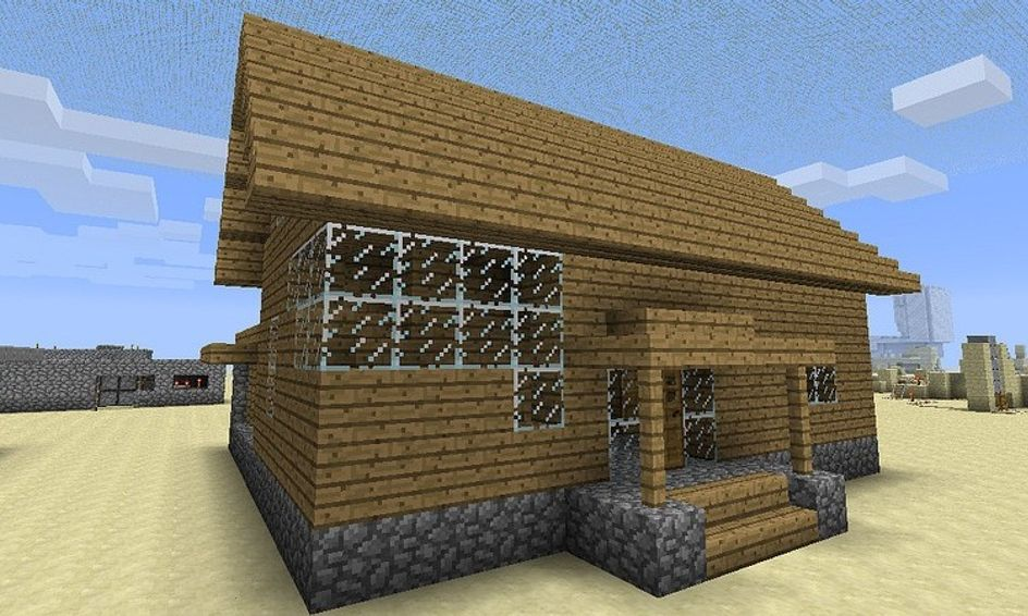 Building Planning Skills With Minecraft House Build Small