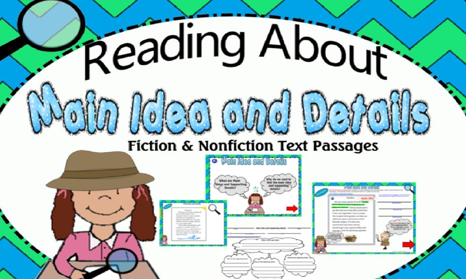 Developing Reading Comprehension Skills- Main Idea and Supporting Details | Small Online Class for Ages 8-9 | Outschool