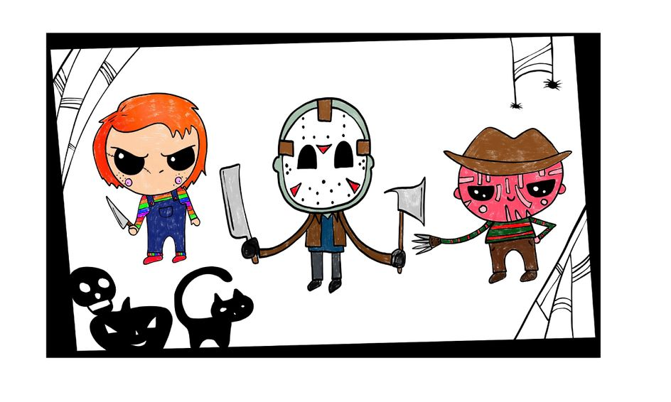 Halloween Drawing Party Draw Horror Characters In The Kawaii Cute Style Small Online Class For Ages 8 12 Outschool