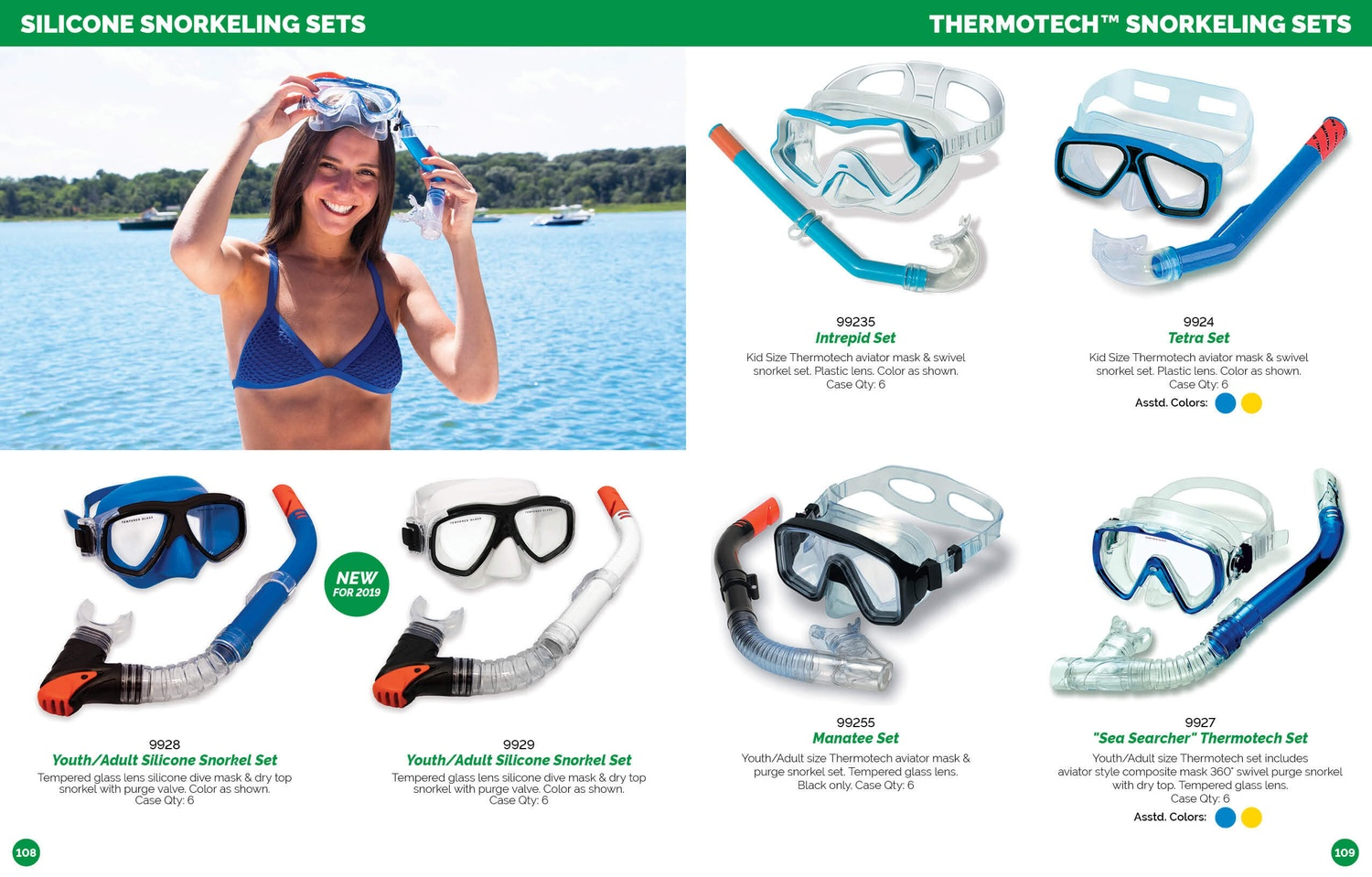 Swimline Catalog 2019 Snorkeling Set Capri Adult Combo Download Full Here