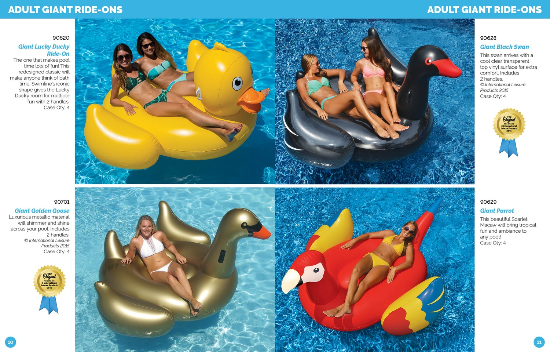 Swimline Toys, Games & Inflatables Catalog