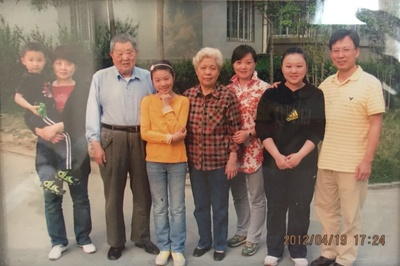 This photo was taken in 2012 which showed a part of my family in my mother side. From the right side to the left side, they were my uncle, me, my aunt, my grandma, my cousin sister, my grandpa, my mother and my cousin brother. In my family, at that time, my uncle and my cousin brother have been living in the U.S. for 10 years at least. At that moment, it was the first time that they came back. During those years, we contacted each other only by cellphone. I still remembered that when my cousin brother was born in the U.S., my uncle took many live videos and sent them to us via the international mail. It was taking few months. During the time my uncle's family was living in the U.S., my uncle and his wife were working so hard. My uncle worked as a sushi chef for 8 years. His wife was studying and getting a nurse. You know, my uncle learned cooking from the beginning when he just arrived. Before that, he was doing some business. Year after year, they bought cars and house, then, their second kid, my cousin brother, was born. Their lives were getting brighter.