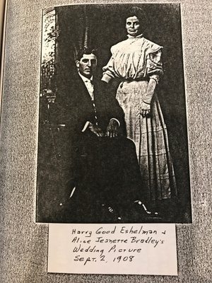 Harry G. Eshelman with wife Alice