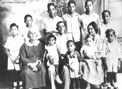Griffin family Belzoni Mississippi 1941