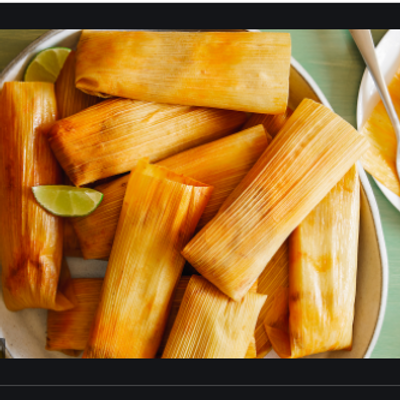 These are my  Christmas Tamales