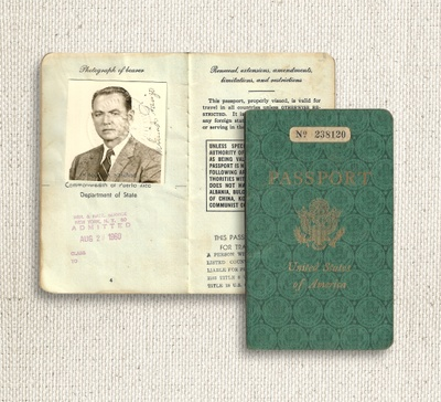 My great grandfather's passport