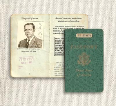 My great grandfather's passport