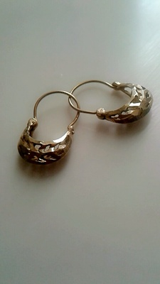 The earrings my mother gifted me