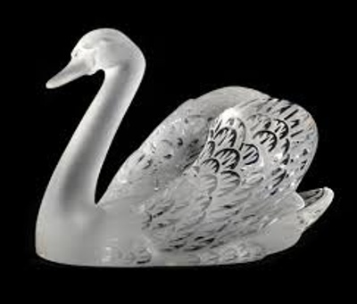Its a glass SWAN