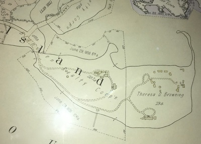This map shows the property as it was in 1929