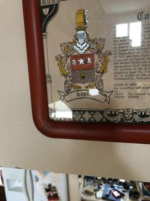 Kopf Family Coat of Arms